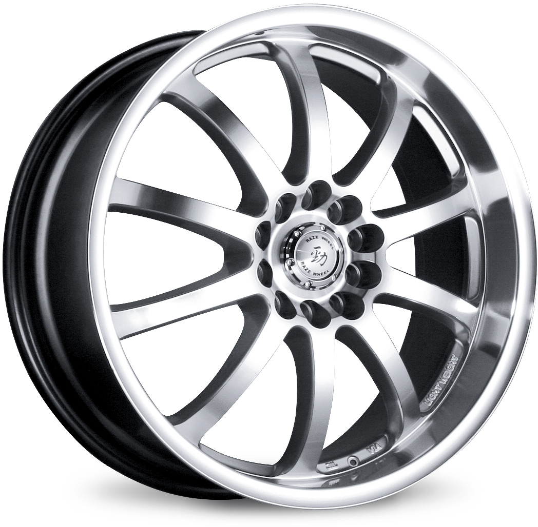 "1998-2002 Honda Accord 5 Lug 6 Cyl MS Rims 18""X8.0 Raze"